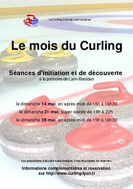 Initiation et découverte du curling