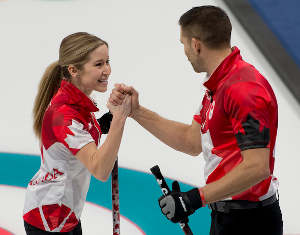 Le Canada en Or en double-mixte