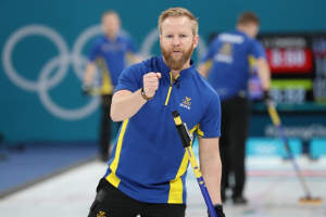Niklas Edin, skip de la Suède