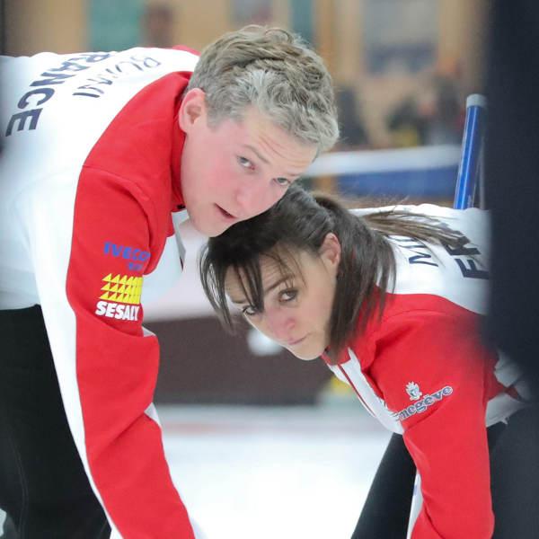 Romain Borini et Sandrine Morand, fra © WCF